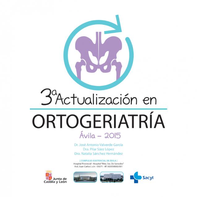 Libro 3era Actualización en Ortogeriatría – Ávila 2015