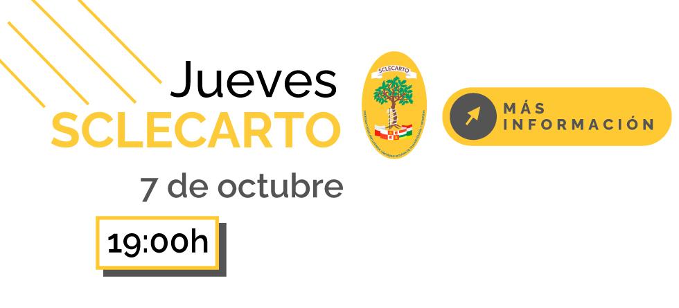 Jueves Sclecarto Webinar 7 de octubre